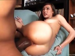 Pretty Asian Teen Sucks Big Black Cock In Interracial Sex